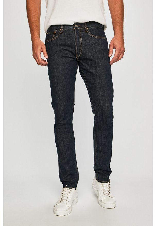 Niebieskie jeansy Polo Ralph Lauren w kolorowe wzory