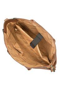 Wittchen - Kuferek z kieszenią na netbooka. Kolor: brązowy. Wzór: haft. Dodatki: z haftem. Materiał: skórzane. Styl: elegancki, casual