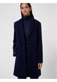 Niebieski płaszcz przejściowy Hugo