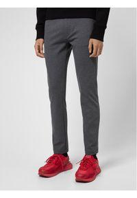 Hugo Spodnie materiałowe Iggy204 50437956 Szary Extra Slim Fit. Kolor: szary. Materiał: materiał