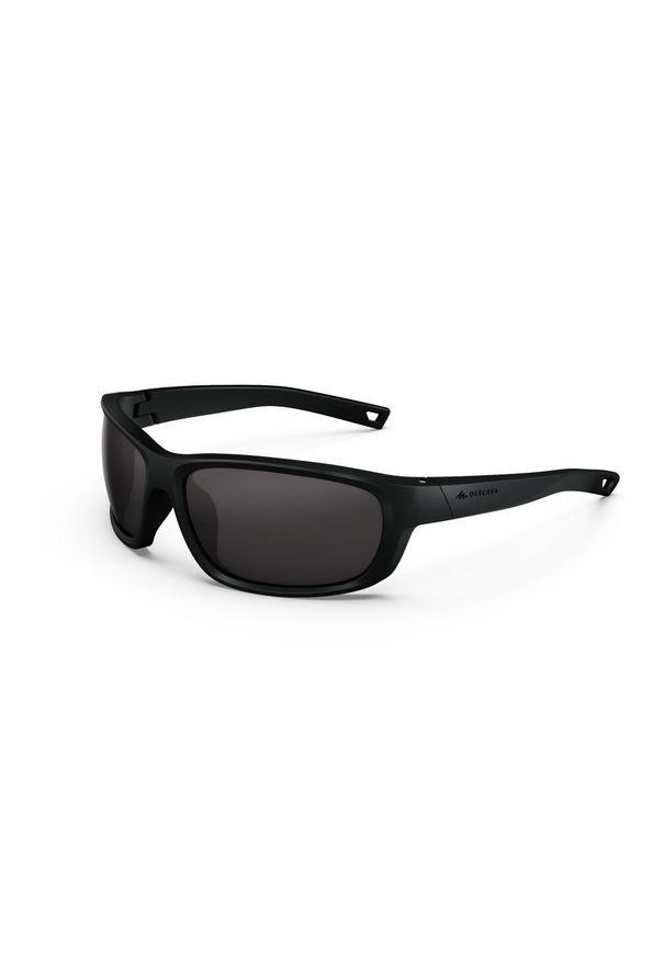 quechua - Okulary przeciwsłoneczne - MH500 - dorośli - kategoria 3. Kolor: czarny. Materiał: poliamid
