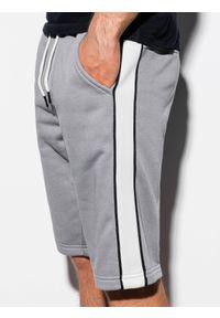 Szare szorty Ombre Clothing krótkie