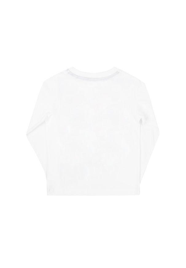 Biała koszulka z długim rękawem Pepe Jeans