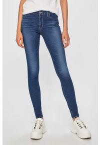 Niebieskie jeansy Levi's® z aplikacjami, na spotkanie biznesowe, biznesowe