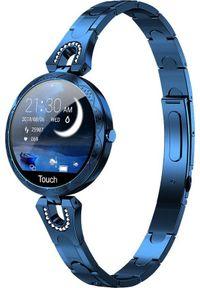 Niebieski zegarek WATCHMARK smartwatch
