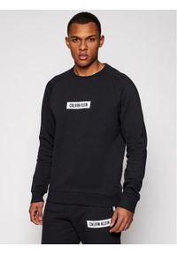 Calvin Klein Performance Bluza Pw 00GMS1W360 Czarny Regular Fit. Kolor: czarny