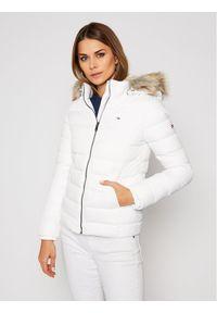 Biała kurtka puchowa Tommy Jeans