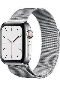 Srebrny zegarek APPLE smartwatch
