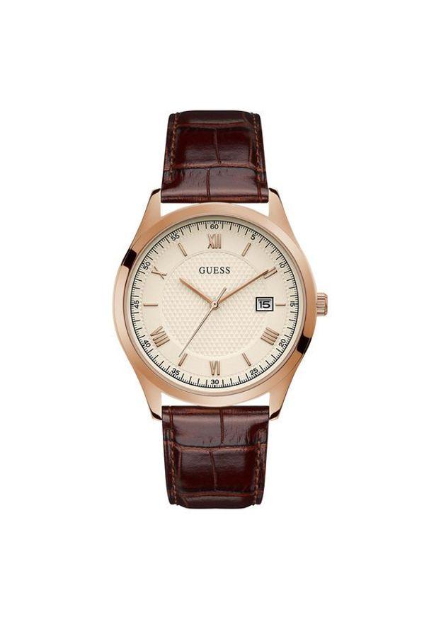 Brązowy zegarek Guess