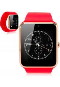 Smartwatch Roneberg RG08 Czerwony. Rodzaj zegarka: smartwatch. Kolor: czerwony
