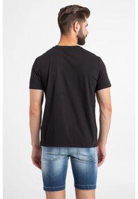 T-shirt Just Cavalli w kolorowe wzory, elegancki