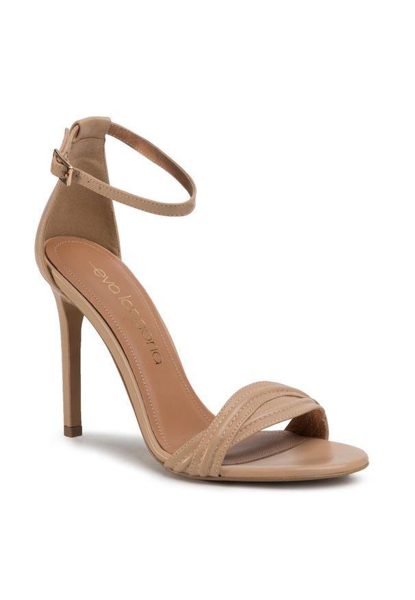 Beżowe sandały Eva Longoria