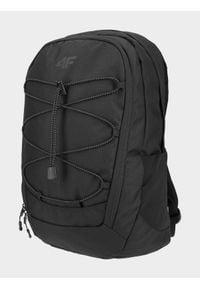 4f - Plecak miejski. Kolor: czarny