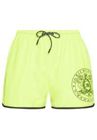 John Richmond Szorty kąpielowe Madley UMP21128CO Żółty Regular Fit. Kolor: żółty #3