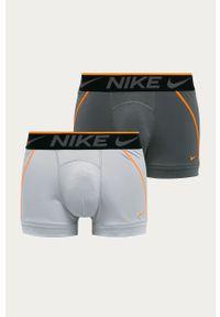 Szare majtki Nike z nadrukiem
