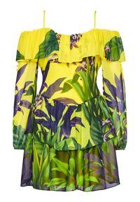 Sukienka letnia Guess w kolorowe wzory