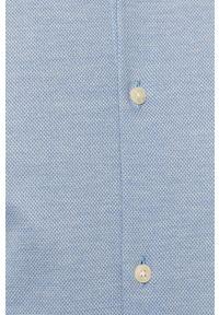 Niebieska koszula Scotch & Soda z klasycznym kołnierzykiem, klasyczna, gładkie