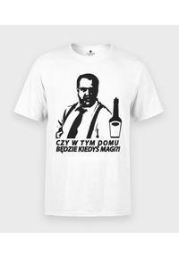 MegaKoszulki - Koszulka męska Czy będzie magi. Materiał: bawełna