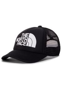 The North Face - Czapka z daszkiem THE NORTH FACE - Youth Logo Trucker NF0A3SIIKY41 Tnfblack/Tnfwht. Kolor: czarny. Materiał: poliester, materiał