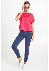 JEANSY MADERA Sportmax Code. Stan: podwyższony. Materiał: jeans. Styl: klasyczny