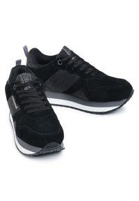 Czarne buty sportowe Big-Star z cholewką, na co dzień