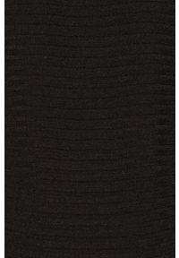 Czarny sweter Vila z golfem