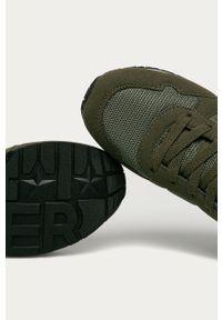 Buty sportowe TOMMY HILFIGER na sznurówki, z okrągłym noskiem