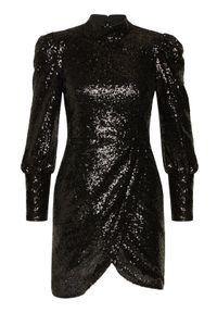Czarna sukienka koktajlowa TwinSet wizytowa