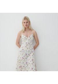 Reserved - Dzianinowa sukienka - Wielobarwny. Materiał: dzianina