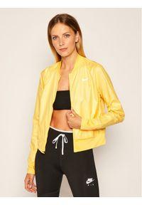 Żółta kurtka do biegania Nike