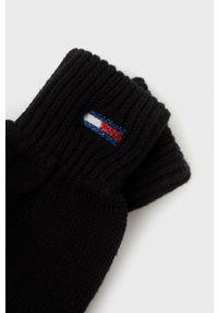 Tommy Jeans - Rękawiczki. Kolor: czarny