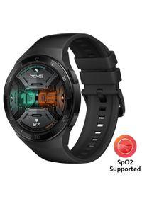 HUAWEI - Huawei smartwatch Watch GT 2e, Graphite Black, 46 mm. Rodzaj zegarka: smartwatch. Kolor: czarny. Styl: sportowy