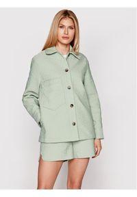 Zielona kurtka przejściowa Samsoe & Samsoe