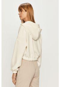 Biała bluza rozpinana only z kapturem
