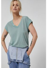 medicine - Medicine - T-shirt Basic. Kolor: turkusowy