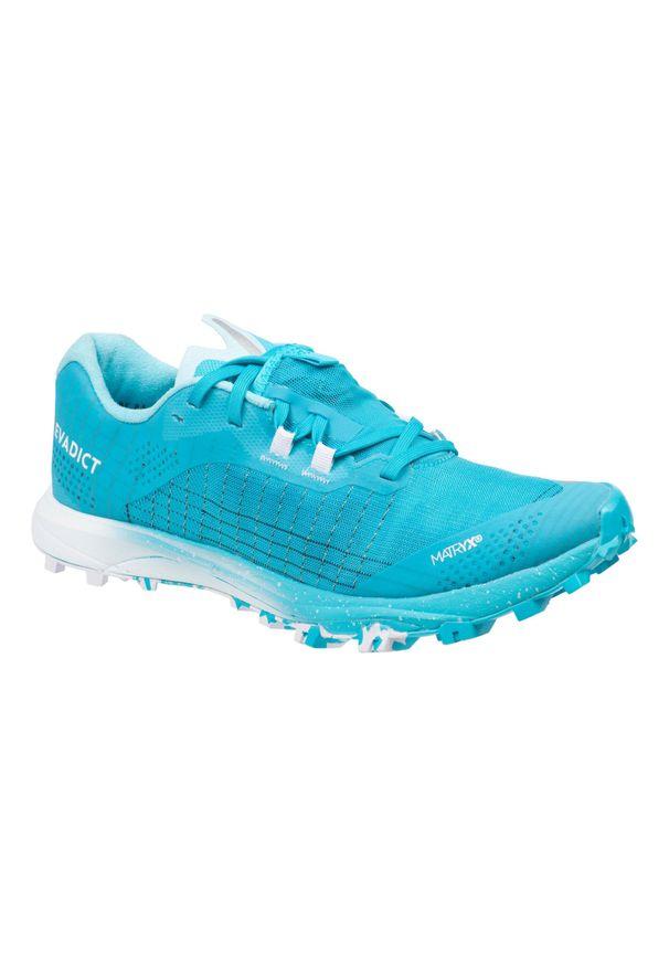 EVADICT - Buty do biegania w terenie Race Light damskie. Kolor: niebieski, wielokolorowy, turkusowy