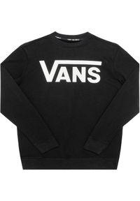 Vans Bluza Classic Crew VN0A36MZ Czarny Regular Fit. Kolor: czarny