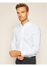 Biała koszula biznesowa TOMMY HILFIGER button down