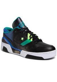 Czarne sneakersy Converse na co dzień, z cholewką