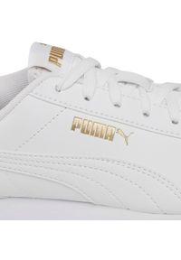 Białe półbuty Puma na co dzień, z cholewką, casualowe