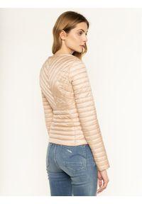 Beżowa kurtka puchowa Trussardi Jeans