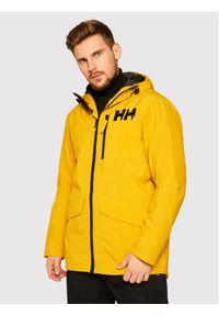 Żółta kurtka zimowa Helly Hansen