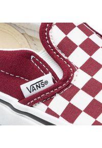 Vans - Tenisówki VANS - Classic Slip-On (Checkerbeard)Pmgrnttrrwht. Zapięcie: bez zapięcia. Kolor: biały, czerwony, wielokolorowy. Materiał: materiał