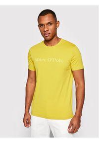 Marc O'Polo T-Shirt 123 2220 51230 Żółty Regular Fit. Typ kołnierza: polo. Kolor: żółty