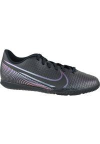 Czarne halówki Nike z cholewką, w kolorowe wzory