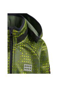 Zielona kurtka przeciwdeszczowa LEGO Wear