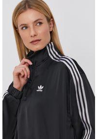adidas Originals - Adidas Originals - Bluza. Okazja: na co dzień. Kolor: czarny. Materiał: materiał. Długość rękawa: długi rękaw. Długość: krótkie. Styl: casual