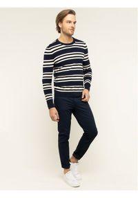 Niebieski sweter klasyczny Michael Kors