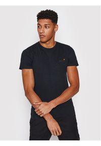 Superdry T-Shirt Ol Vintage Emb Tee M1010206A Czarny Regular Fit. Kolor: czarny. Styl: vintage