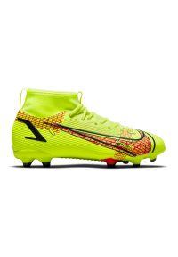 Buty piłkarskie dla dzieci korki Nike Mercurial Superfly 8 Academy MG CV1127. Materiał: materiał. Szerokość cholewki: normalna. Sport: piłka nożna